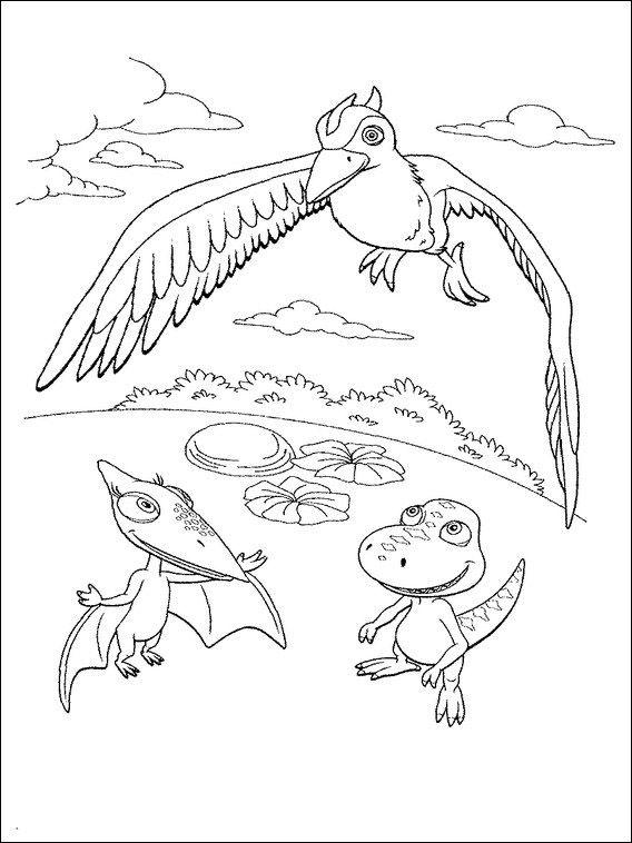 dinosaurier zug 7 ausmalbilder für kinder malvorlagen zum