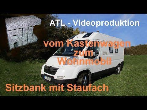 womo ausbau teil 11 sitzbank mit staufach youtube. Black Bedroom Furniture Sets. Home Design Ideas