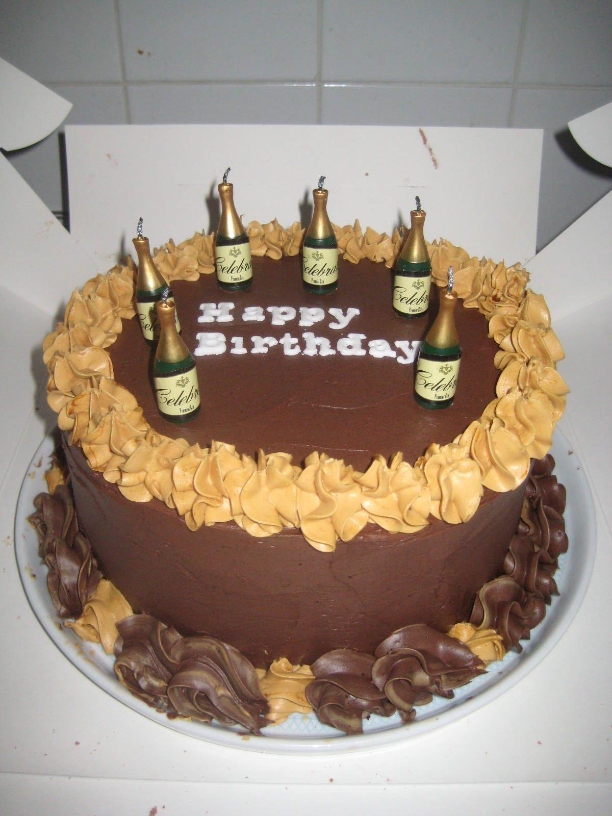 Chocolate Fudge And Caramel Cake Made For My Fiances Birthday