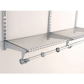 Rubbermaid Homefree 4 Ft Adjustable Mount Wire Shelving