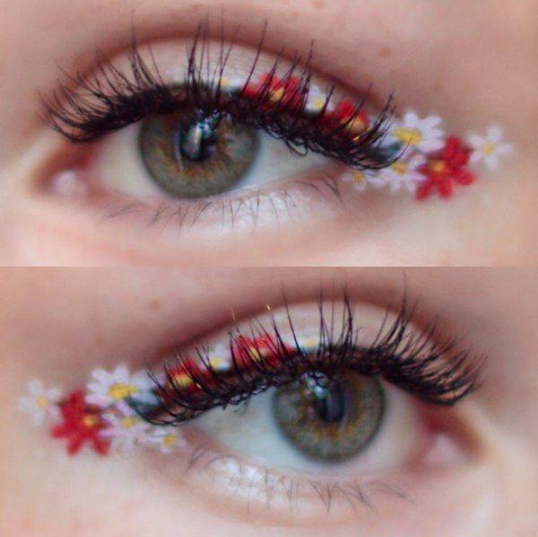 Eyeliner a fiori: das trendige Make-up più glam della primavera estate!