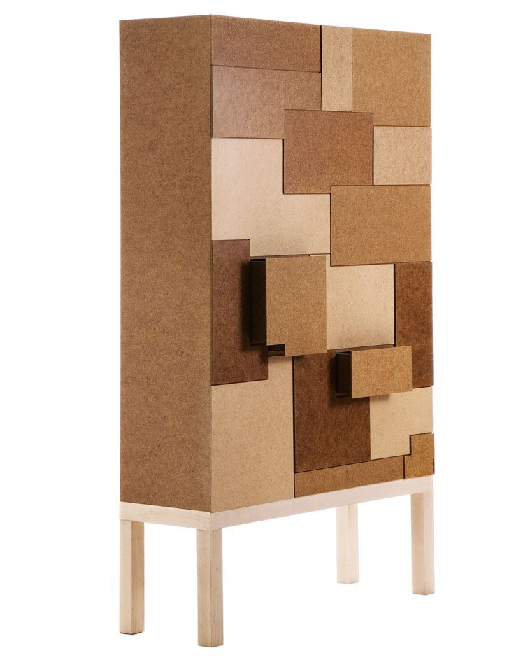 Cabinet From The Collection Unique Standard By Swedish Folkform