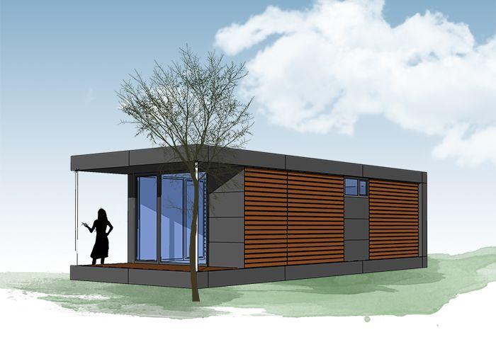 Neues wohnen im cubig designhaus minihaus container for Mobiles wohnen im minihaus