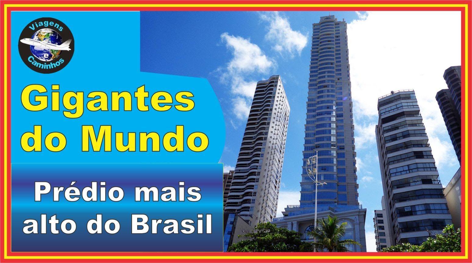 Predio Mais Alto Do Brasil Edificio Millennium Palace Brasil