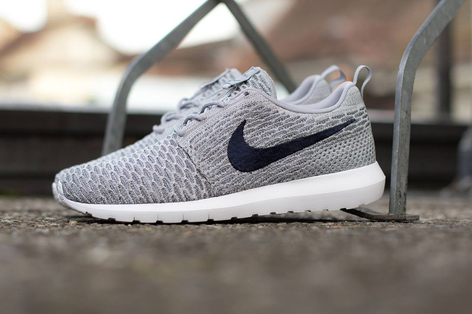 Nike Roshe Run Flyknit Wolf Grey