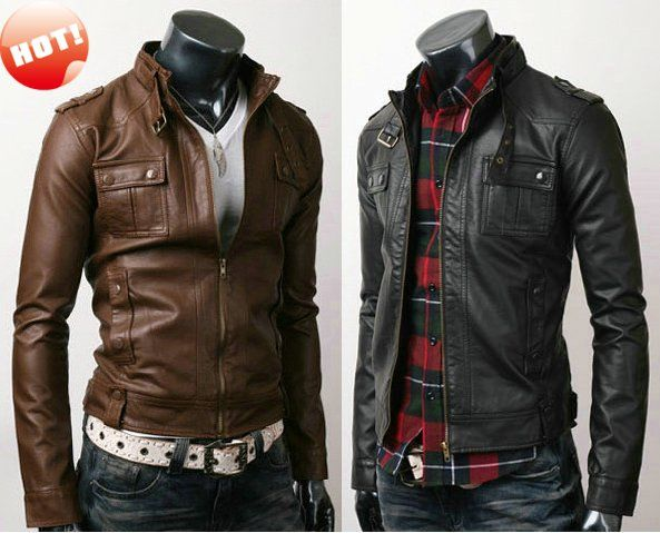 lucky brand leather jackets for men | Leather Bomber Jacket Men ...
