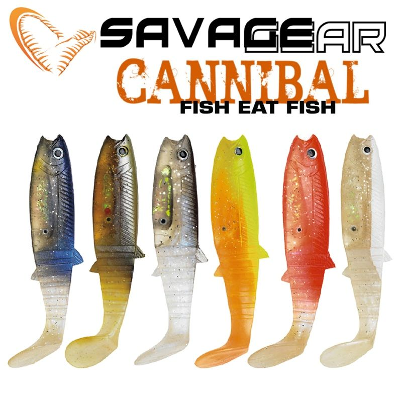 Savage gear cannibal shad umbrella rig stuff pinterest for Savage fishing gear