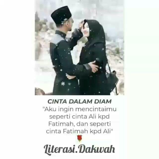Maafkan Aku Ali Karena Sebelum Menikah Denganmu Aku Pernah Satu Kali Jatuh Cinta Pada Seorang Pemudatutur Fatimah Ali Terkejut D Quotes Memes Movie Posters