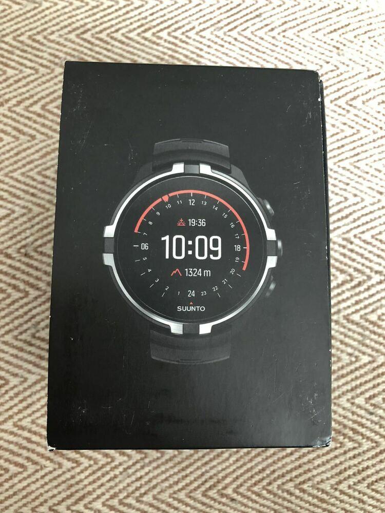 Suunto Spartan Sport Wrist Hr Baro Stealth Ss023404000 Brand New Suunto Withcheststrap Spartan Sports Ebay Sports