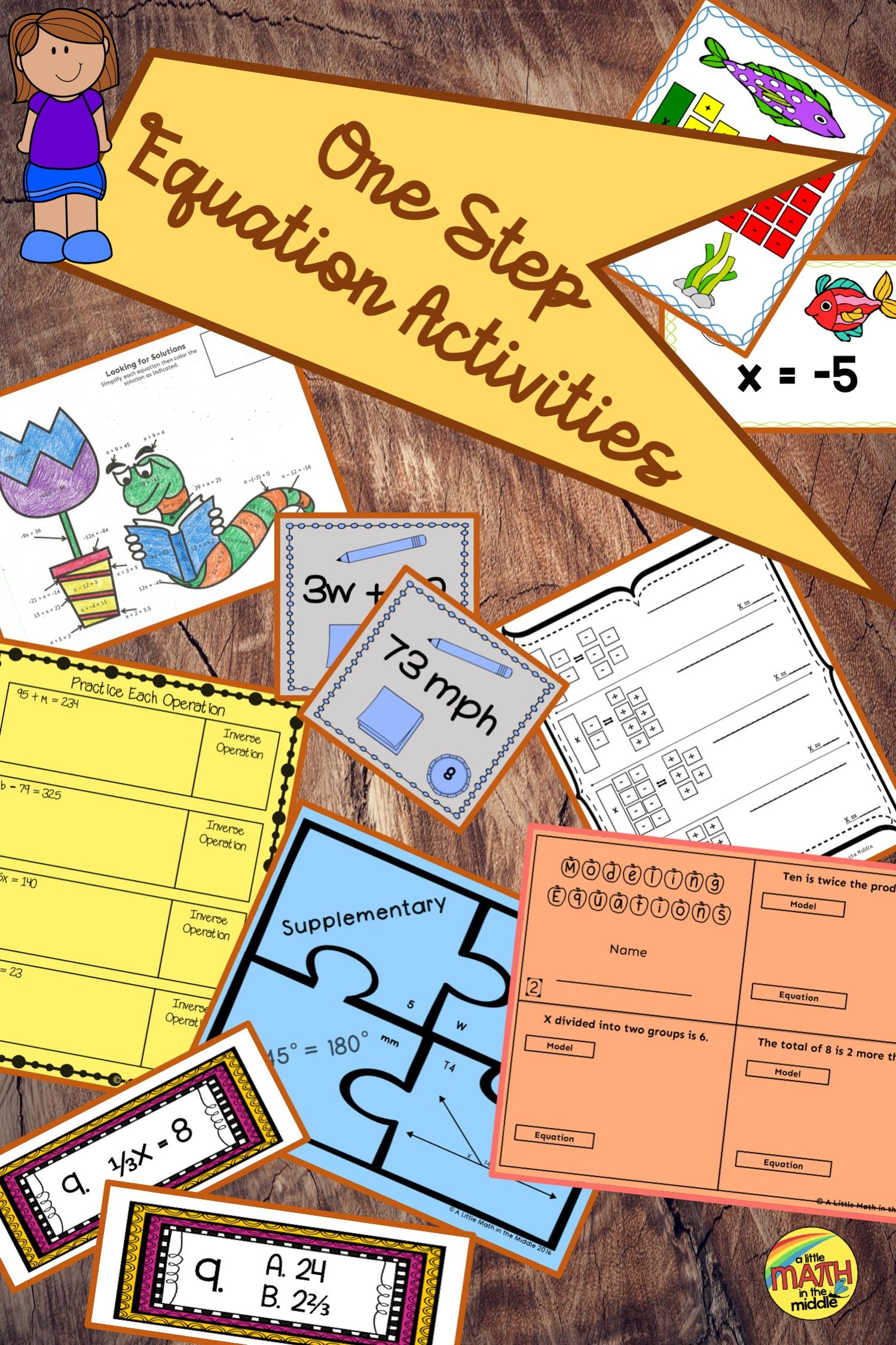 One Step Equations Bundle