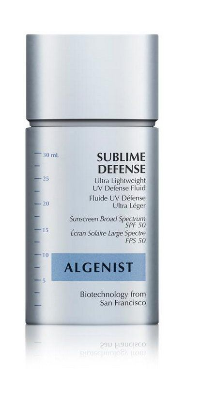 Pin for Later: Travel-Size Sunscreens That Are Easy to Reapply During a Day Party If You Reapply Sunscreen Every 30 Minutes (Just in Case) . . . Algenist Ultra Lightweight UV Defense Fluid SPF 50 ($28)