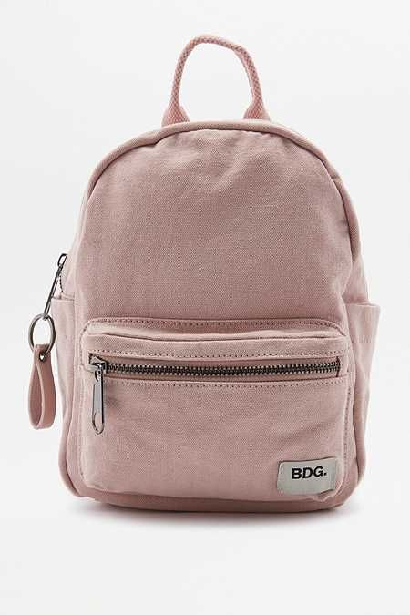 5436b7a66d13 BDG Canvas Mini Backpack Very cute (also in pale yellow and black ...
