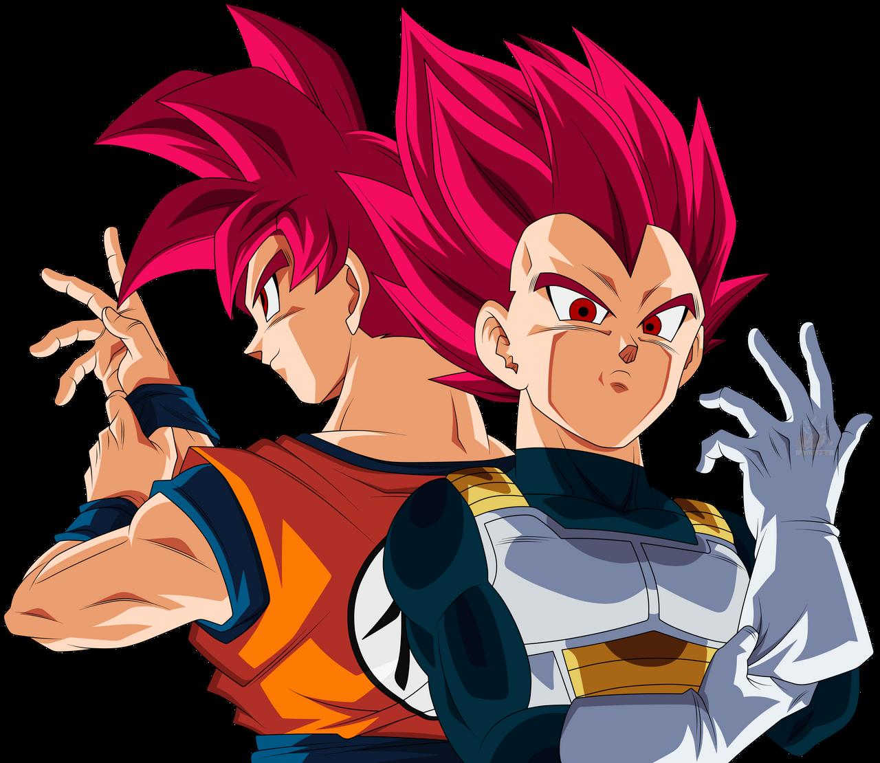 Goku Vegeta Ssgss Render Xkeeperz By Maxiuchiha22 Dragon Ball Goku And Vegeta Dragon Ball Goku
