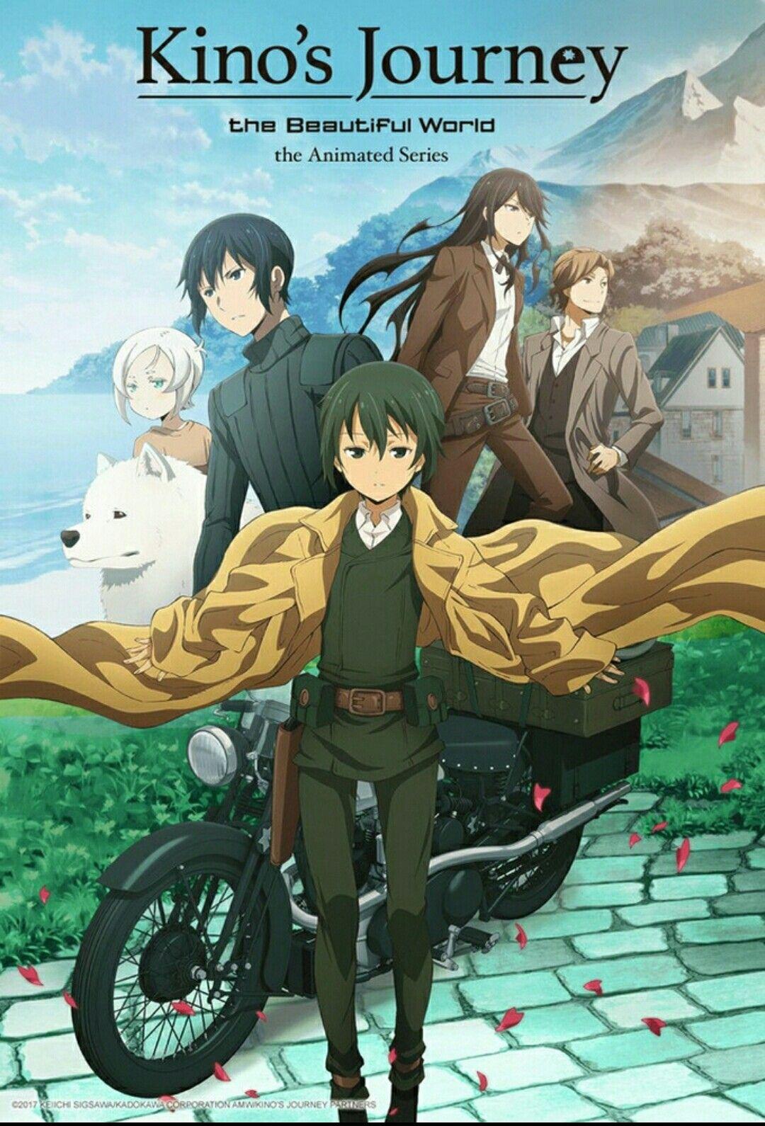 Kino's Journey anime en crunchyroll