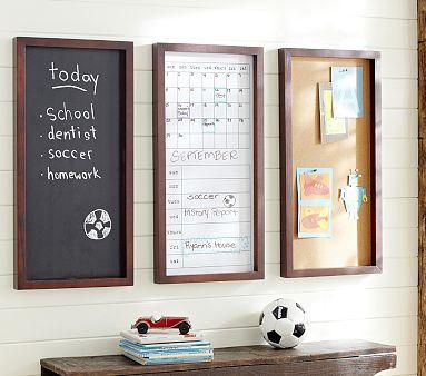 Espresso Daily System Corkboard Chalkboard Amp Whiteboard