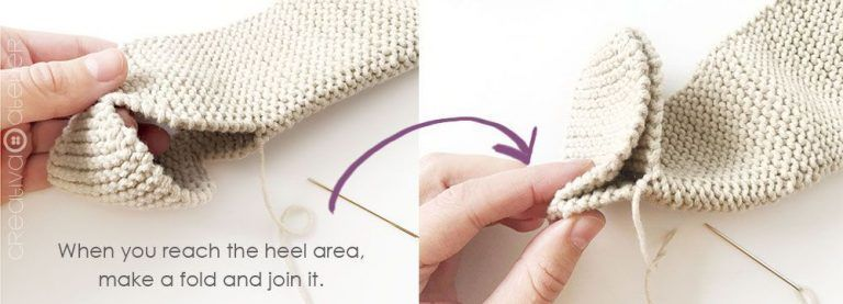 Photo of NUR Knitted baby Legging -Pattern & Tutorial –
