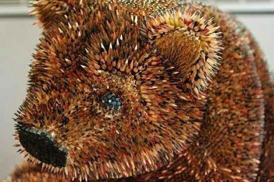 Bear pencil Art