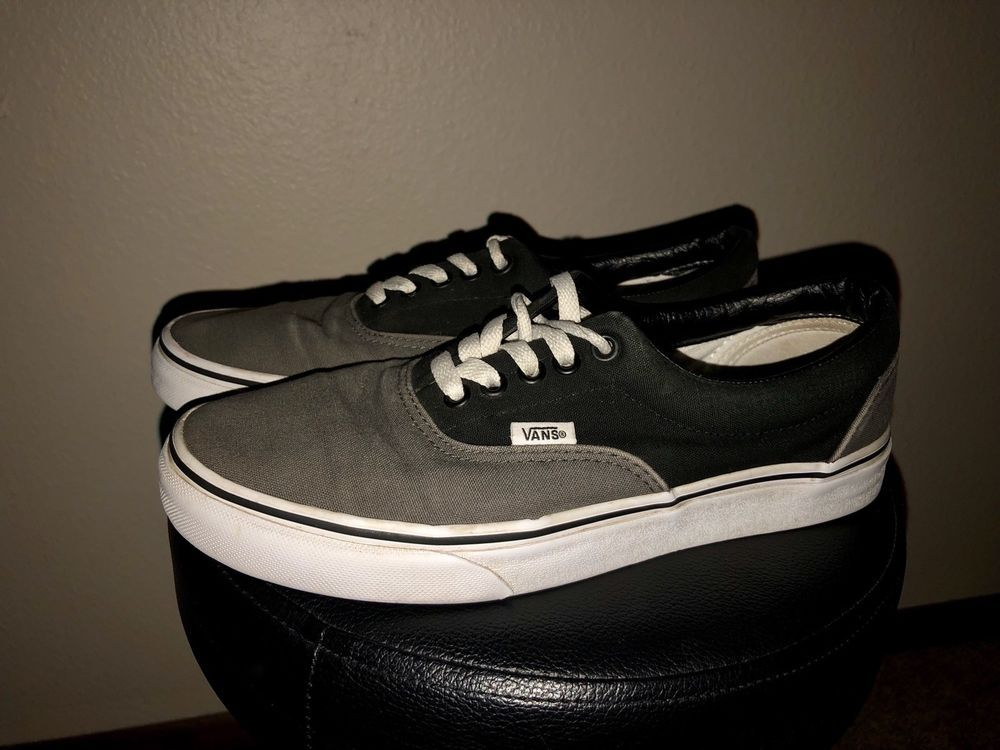 Mens Gray   Black Vans Size 7 1 2 Good Condition  fashion  clothing  shoes   accessories  mensshoes  casualshoes (ebay link) 2785a4103
