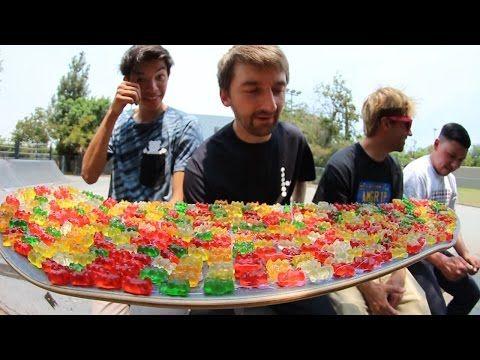 Gummy bear skate board grip tape - Viralol