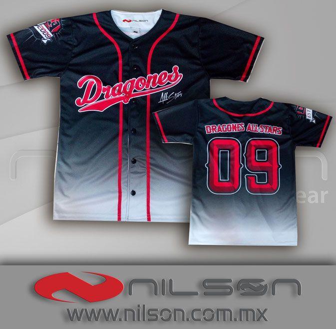 jersey sublimacion fullcolor beisbol nilson ropa deportiva  3cd13a5f6b8