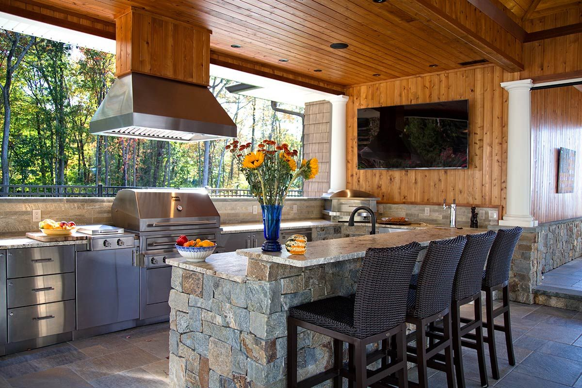 Large kalamazoo outdoor kitchen ct home outdoor pinterest