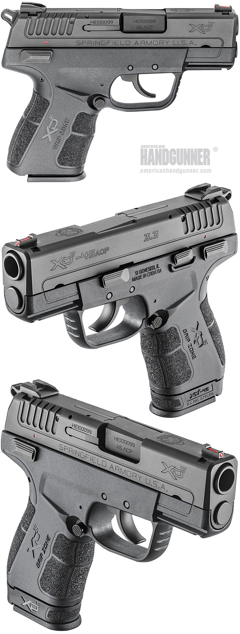 EXCLUSIVE: Springfield Armory's Bigger Hammer — The XD-E  45