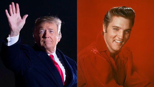 #Trump Dragged On #Twitter For Saying He Looked Like #Elvis #Presley When He Was #Young