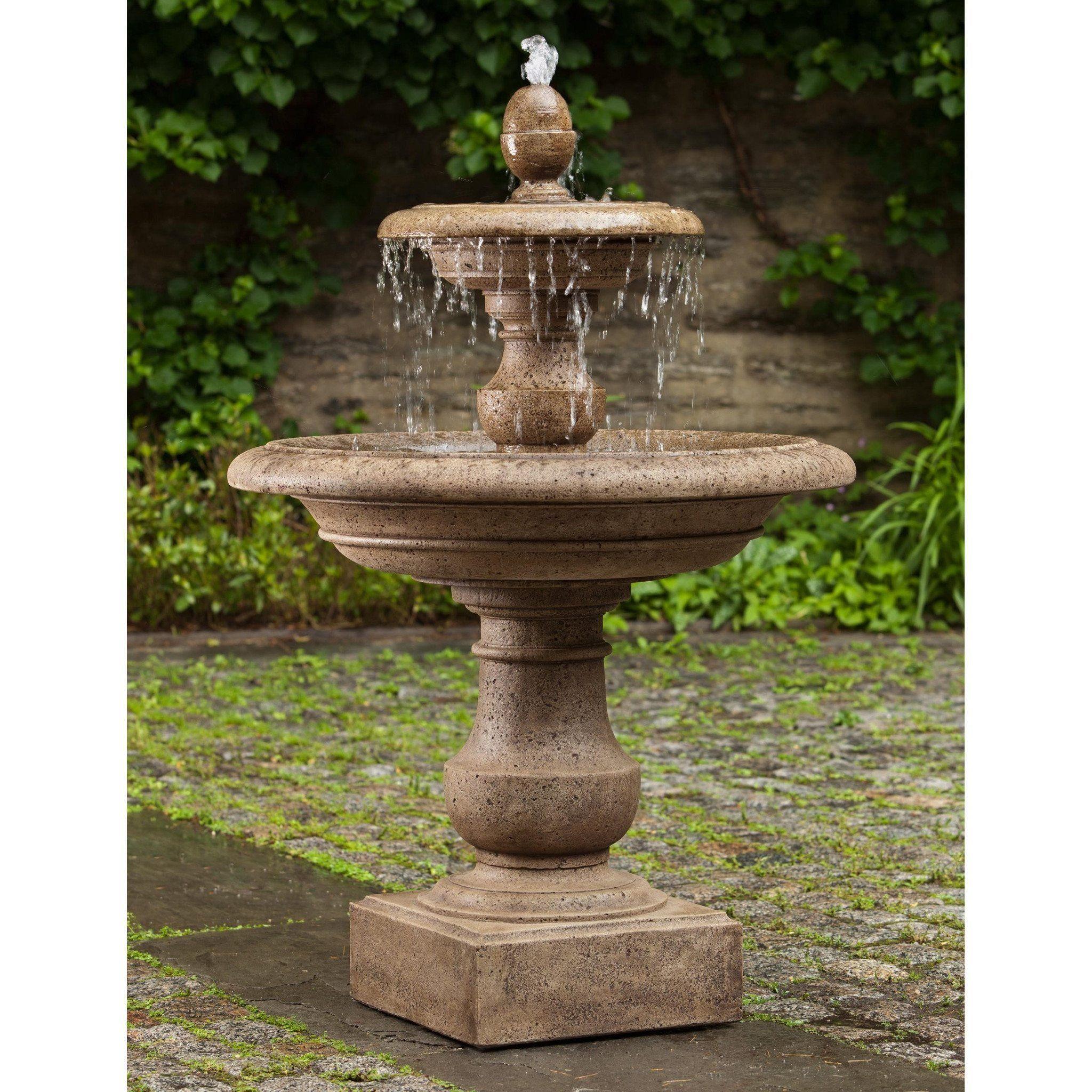 Caterina Tiered Garden Water Fountain | Tiered garden, Water ...