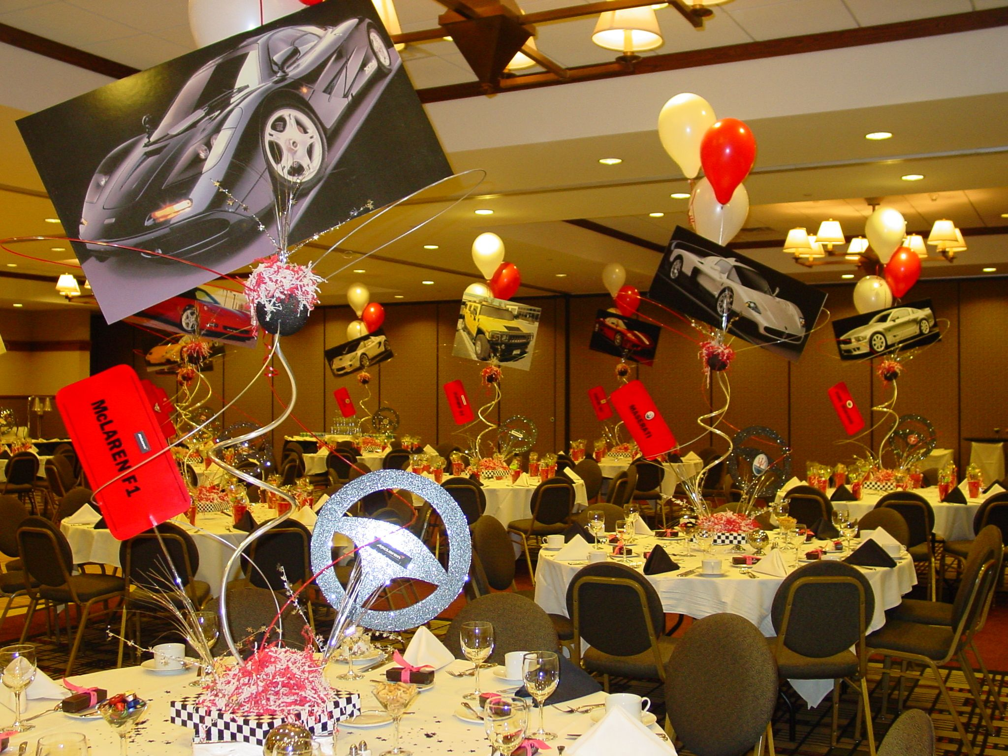 Luxury Car Party Car Themed Parties Car Birthday Theme Cars Birthday Parties