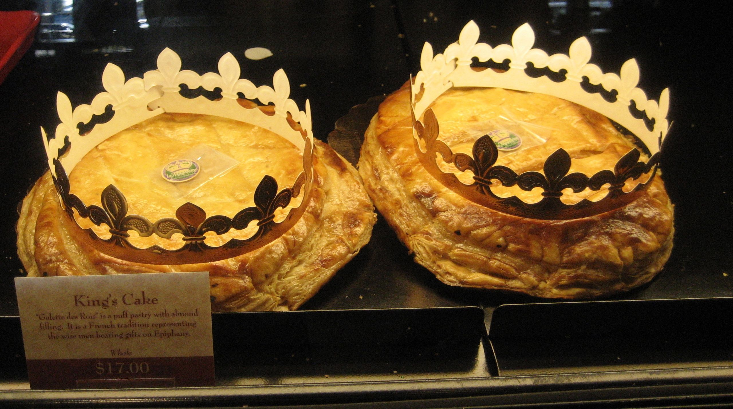 King Cakes Of The Type Locally Called French Style On