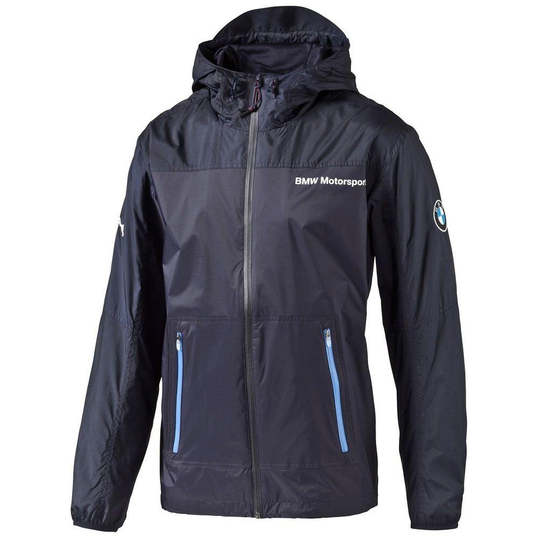 puma bmw motorsport windbreaker hooded jacket mens. Black Bedroom Furniture Sets. Home Design Ideas