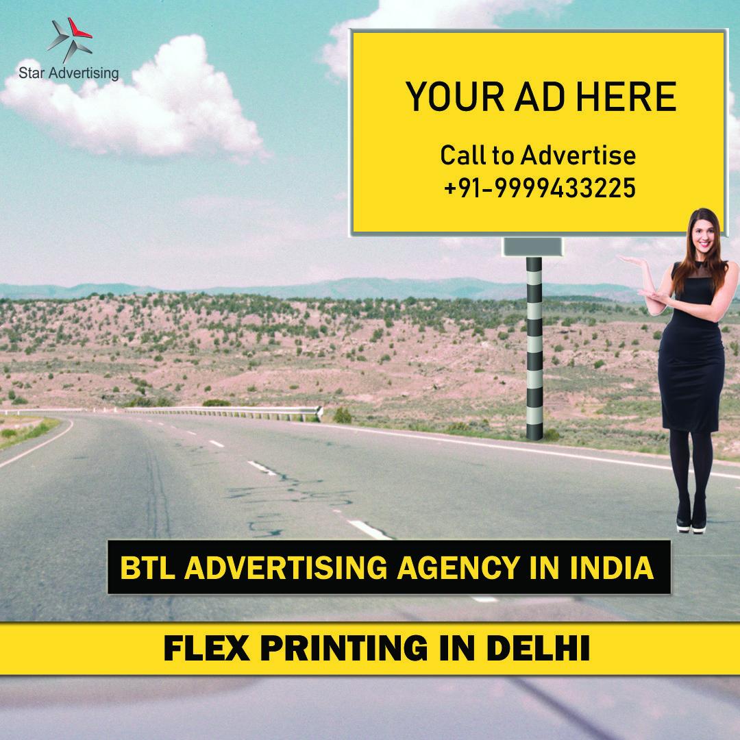 Flex printing in delhi prints event management services