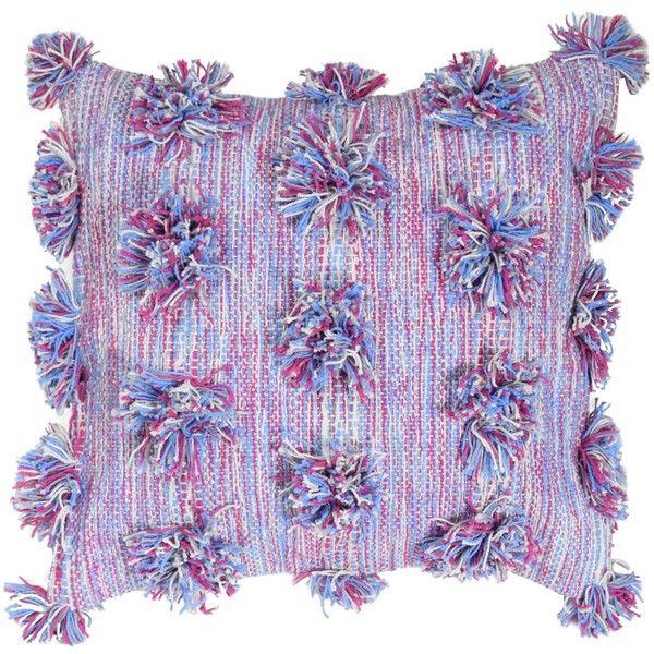 "Purple Cosmic Throw Pillow (16""x16"")"