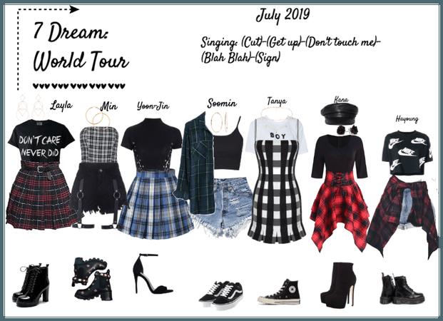 7 Dream World Tour Kpop Fashion Outfits Kpop Outfits Tween Outfits