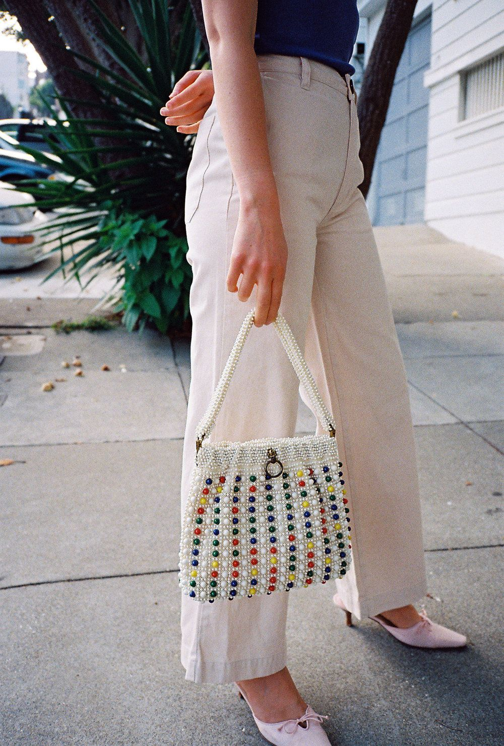 Vintage | Beaded Bag | Summer handbags, Fashion handbags