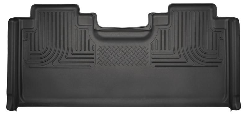 Husky Liners 15 Ford F150 SuperCab WeatherBeater Black