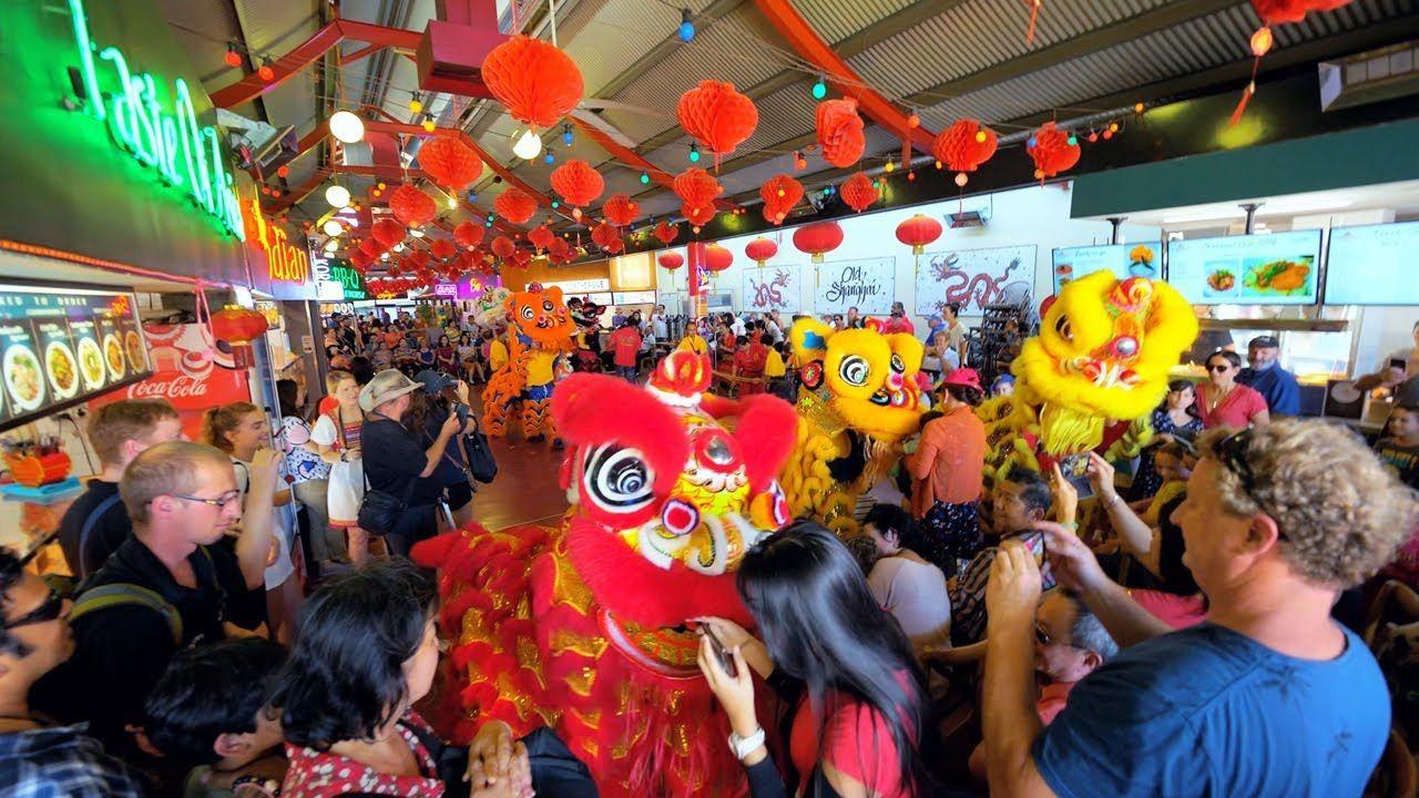 Chinese New Year Celebration Old Shanghai Northbridge