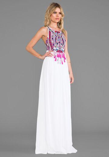 Mara Hoffman. Women's White Mika Dress