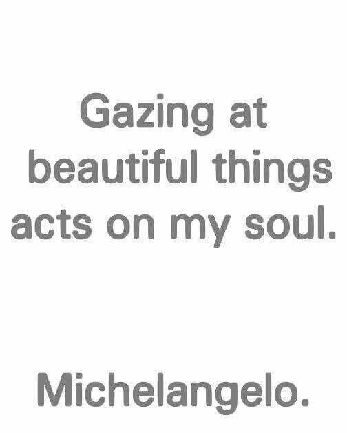 Gazing...