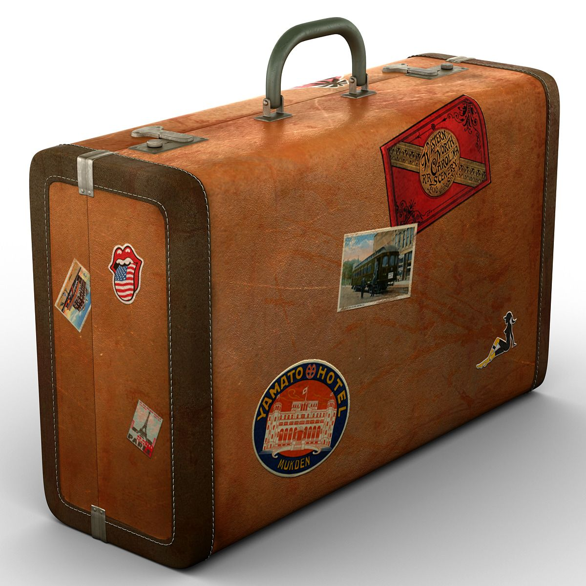 Nice Old Suitcases Part - 2: Old Suitcase Vintage Luggage