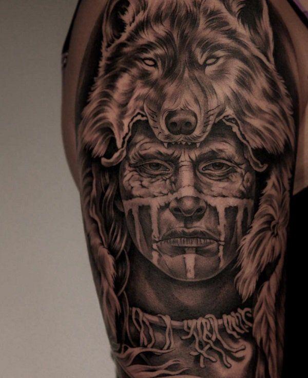 70 Native American Tattoo Designs