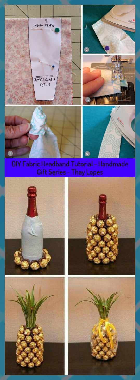 DIY Fabric Headband Tutorial - Handmade Gift Series - Thay Lopes #DIY #Fabric #Gift #Handmade #Headband #Lopes #Series #Thay #Tutorial