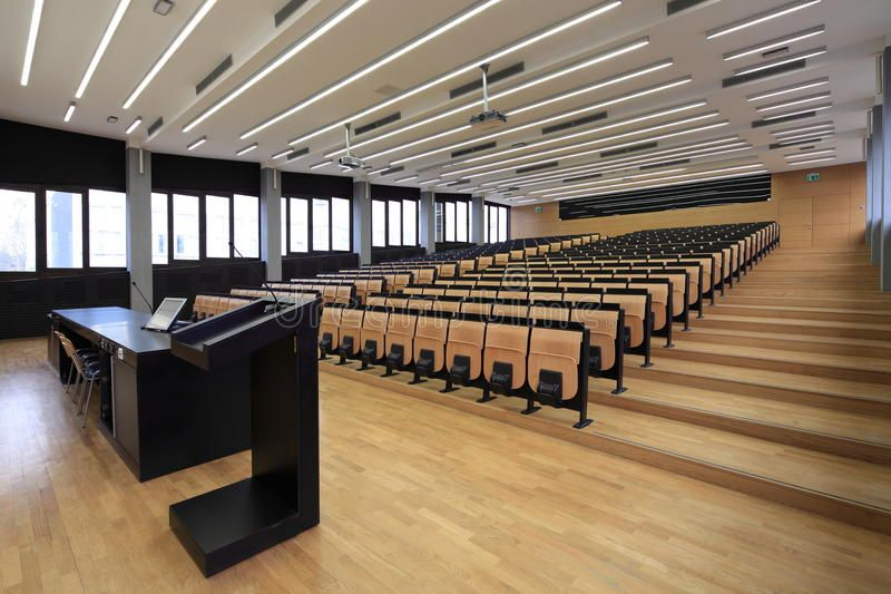 Lecture Hall On Zagreb University Affiliate Hall Lecture University Zagreb Ad Lectures Hall Auditorium Design Lectures Room