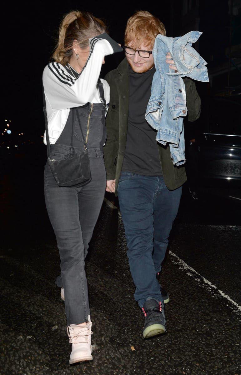 Ed Sheeran And Cherry Seaborn According To The Sun Sheeran Allegedly Got Married To His Childhoo Cherry Seaborn Ed Sheeran S Wife Cherry Seaborn Ed Sheeran