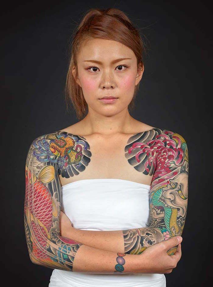Irezumi Oder Das Traditionelle Japanische Tattoo Irezumi