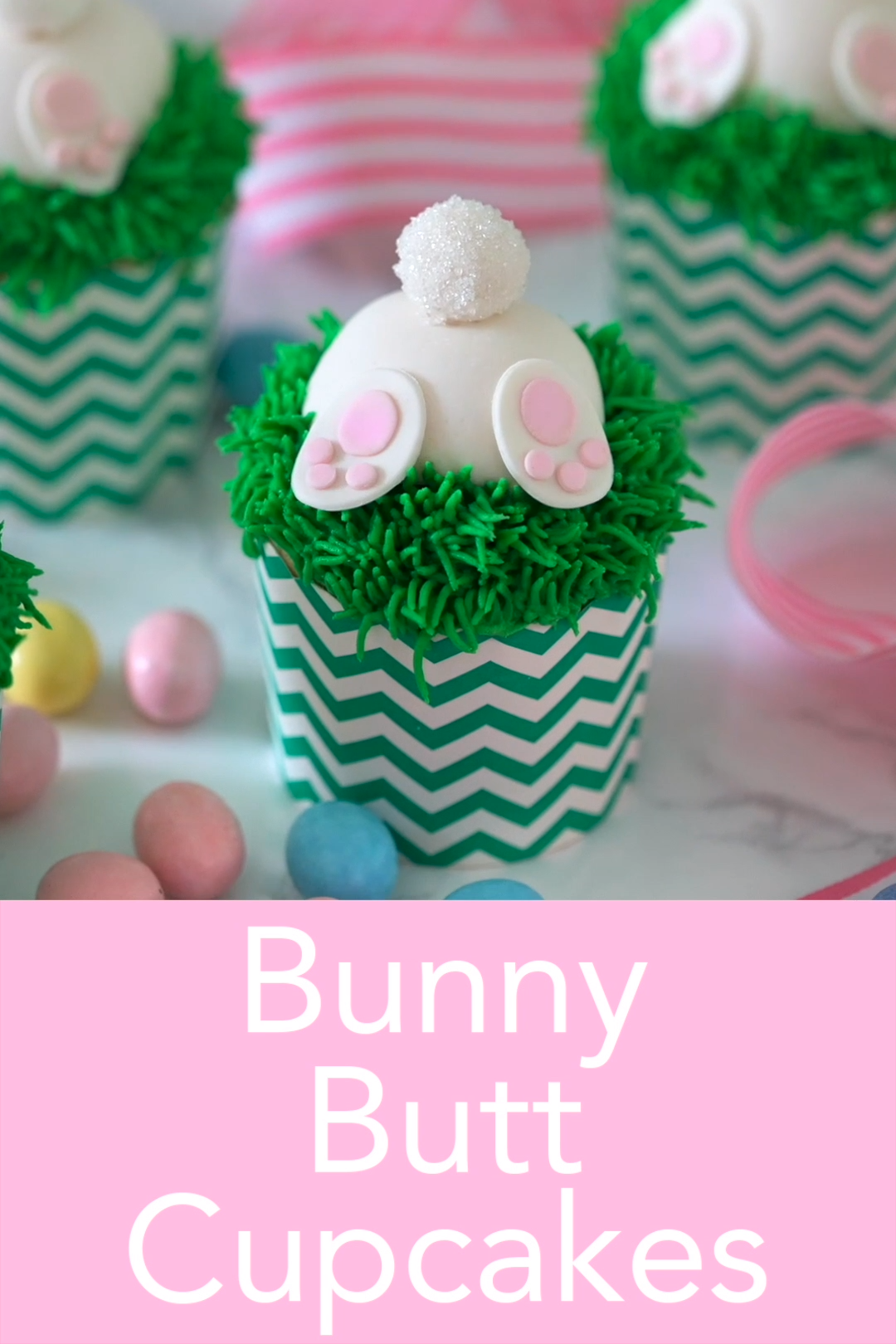 Photo of Bunny Butt Cupcakes