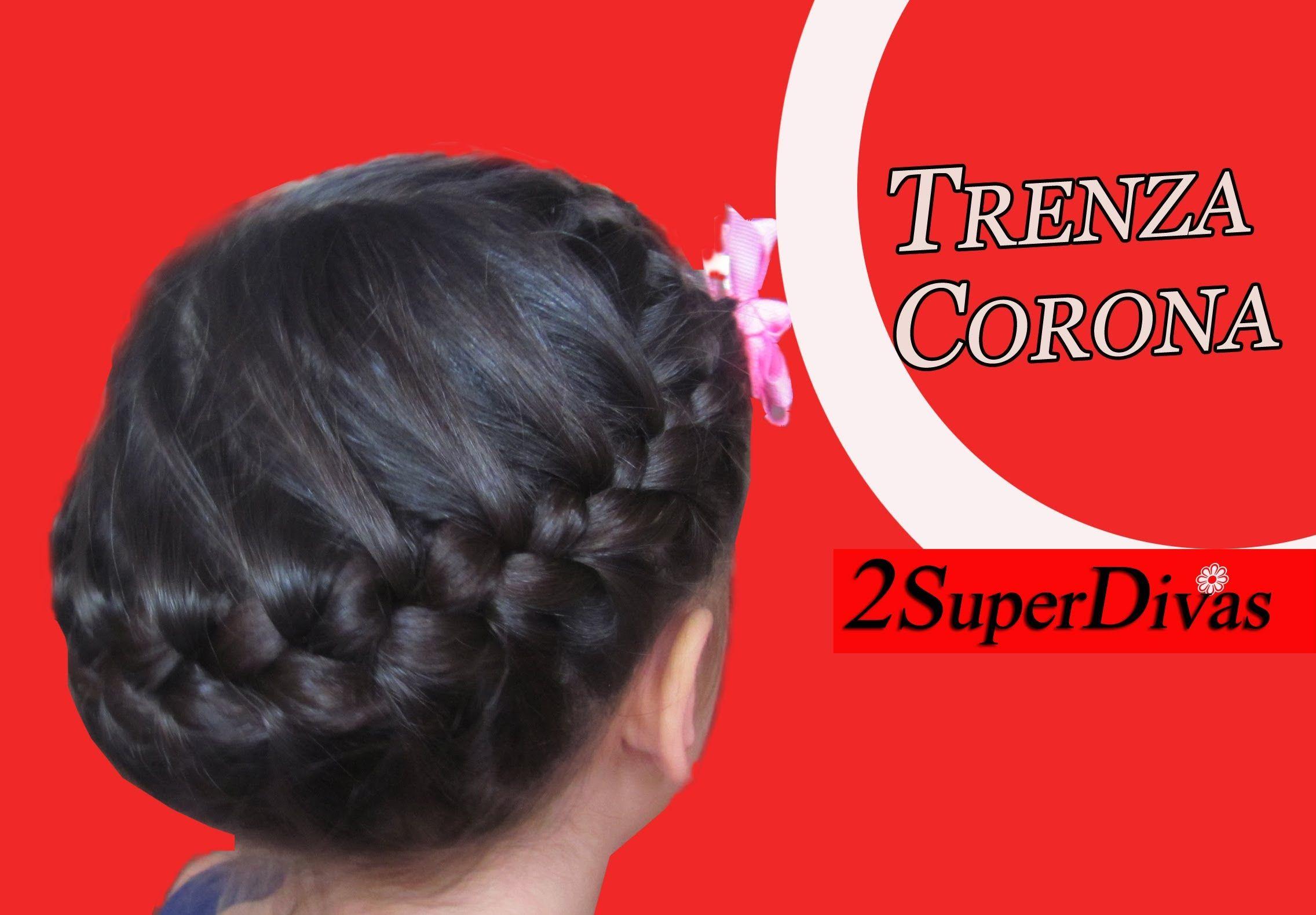 Trenza en corona peinados para ocasion especial ni as - Peinados de ninas ...