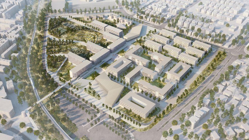 Gallery Of Bgu University North Campus Master Plan Chyutin Architects 9 Master Plan