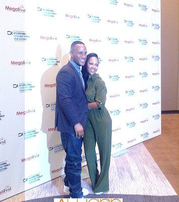 GREAT EXPERIENCE ...AWCNN MAGAZINE INTERVIEWS  MEGAN GOOD AND HUSBAND DEVON FRANKLIN @ MEGA-FEST 2013
