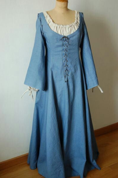 Simple Medieval Dresses